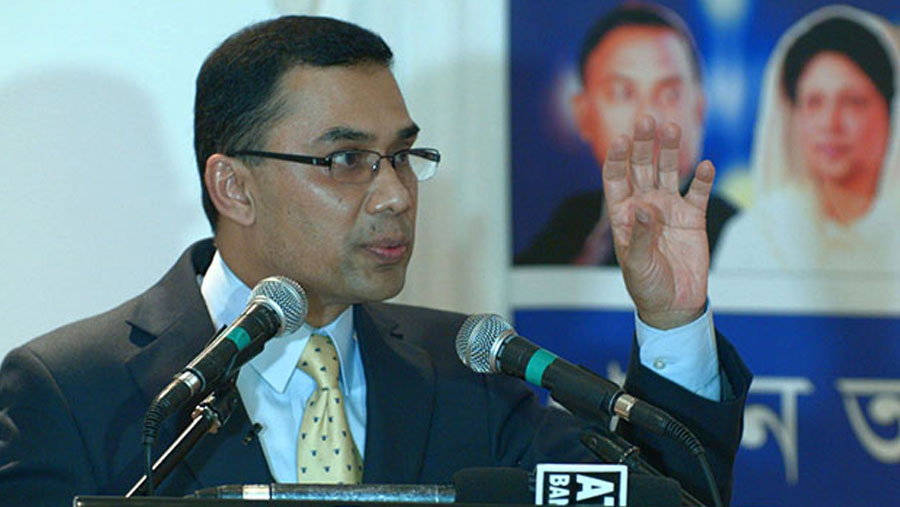 Tarique Rahman BNP's acting Chairman