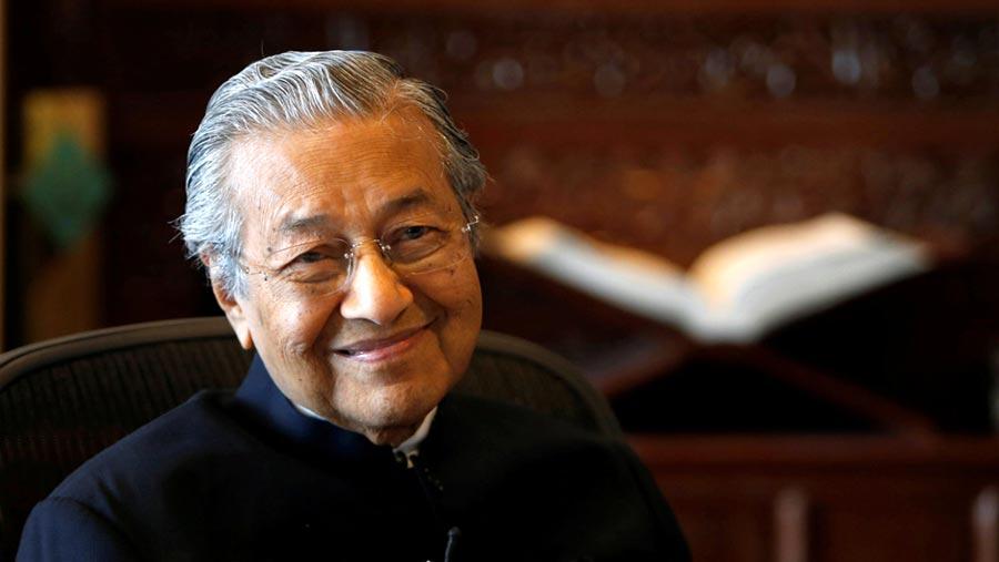 Mahathir Mohamad in hospital