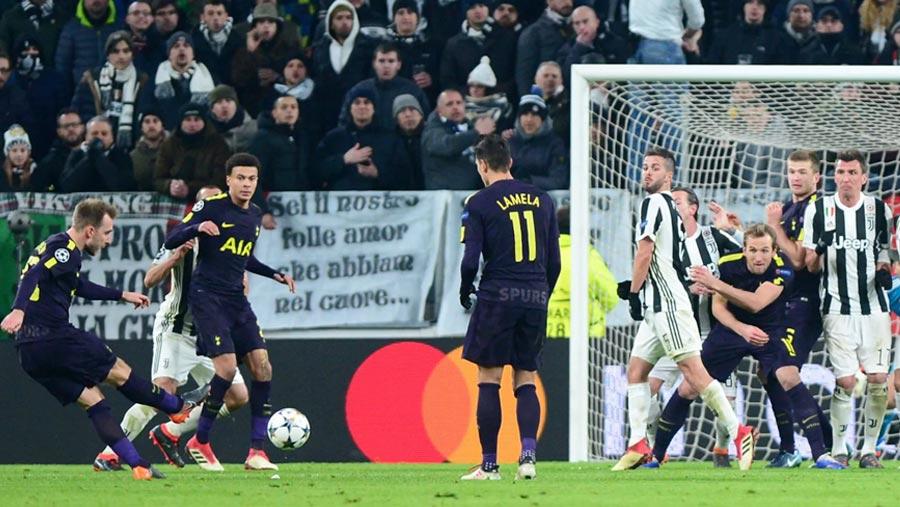 Juventus 2-2 Tottenham