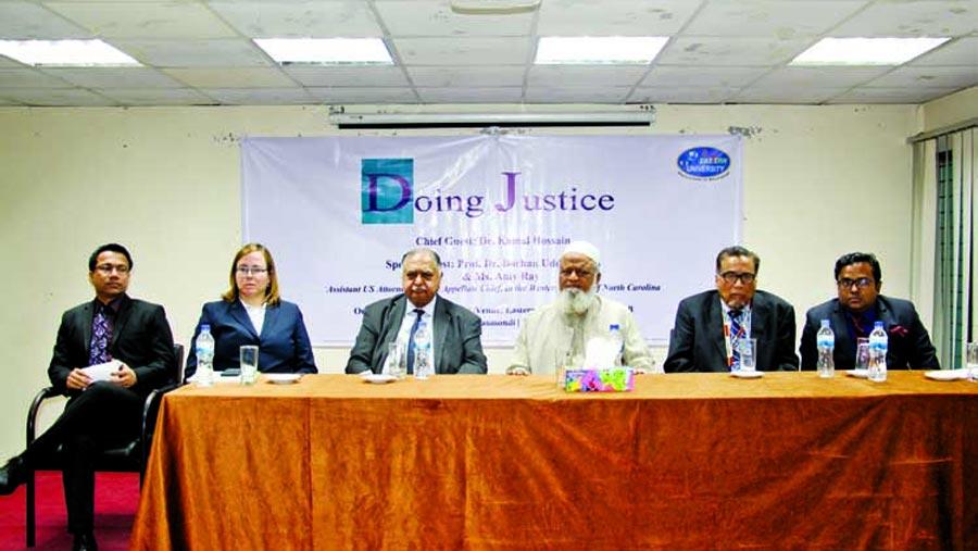 Seminar on Justice held at EU