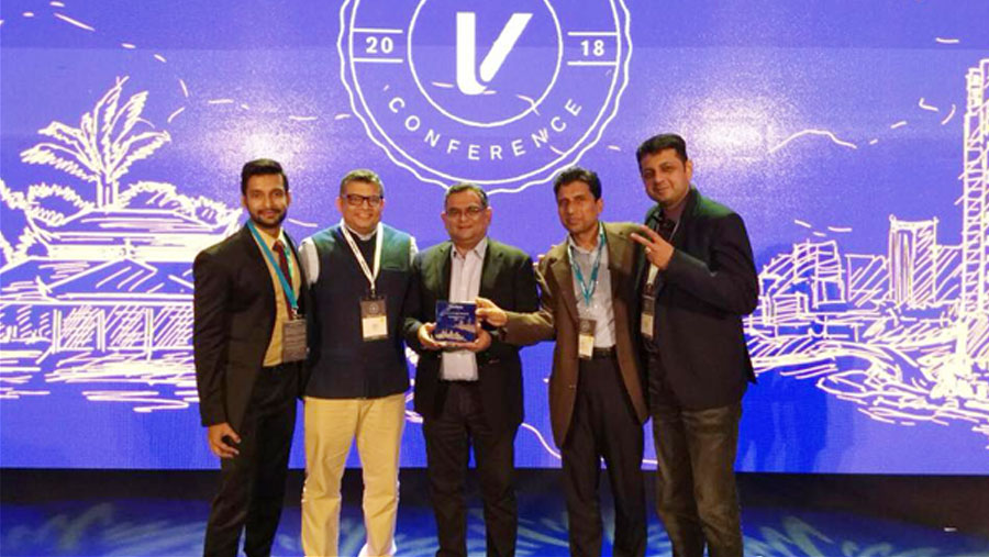 aamra receives VeriFone's Valued Partner Award