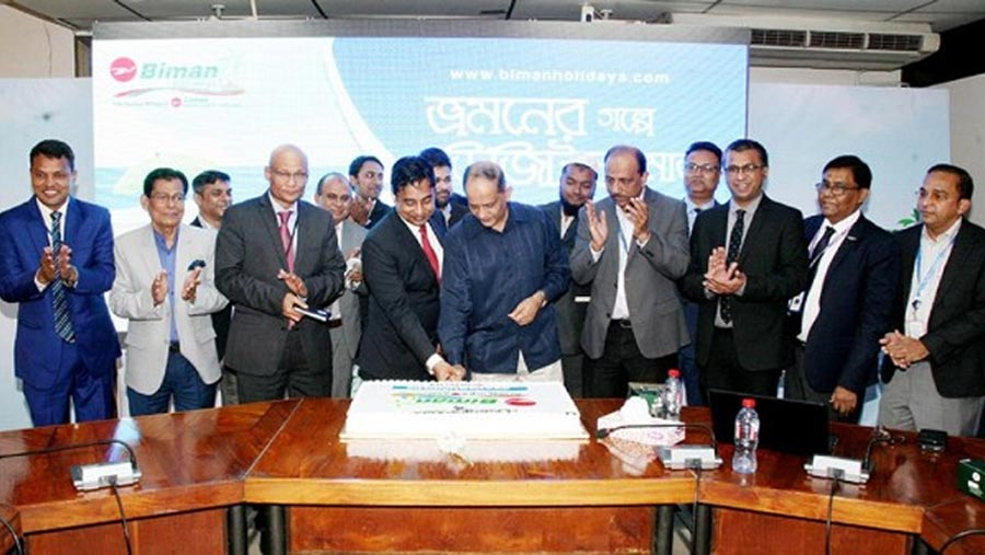 Biman launches tourism wing