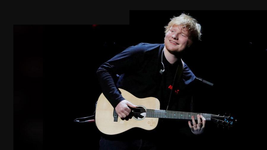 Ed Sheeran named biggest selling recording artist