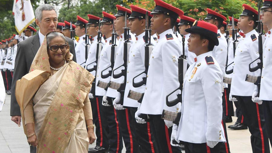 PM shortens Singapore visit