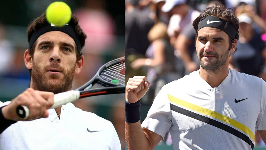 Del Potro to face Federer in Indian Wells final