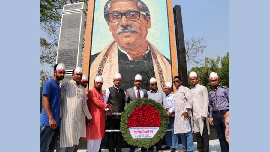 IU celebrates Bangabandhu's birthday