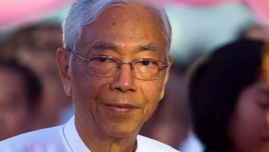 Myanmar President Htin Kyaw resigns