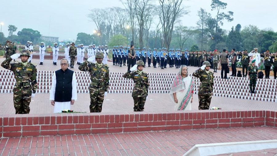 Independence Day celebrated amid festivity