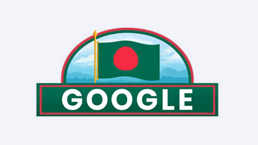 Google Doodle celebrates BD Independence Day