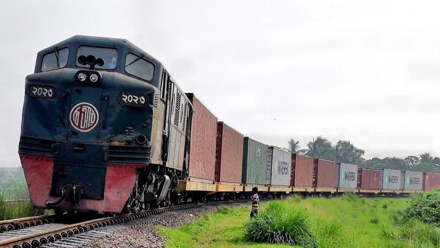 BD-India starts trial run of container train