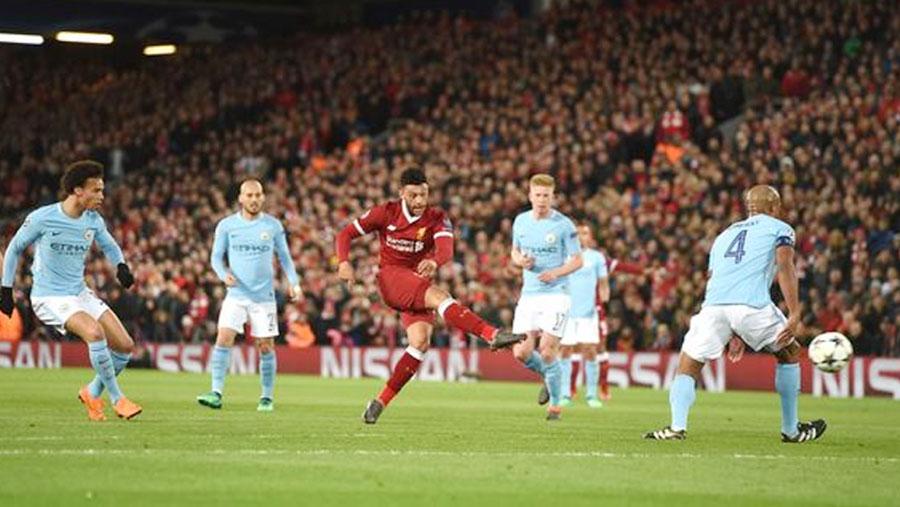 Liverpool stun Man City