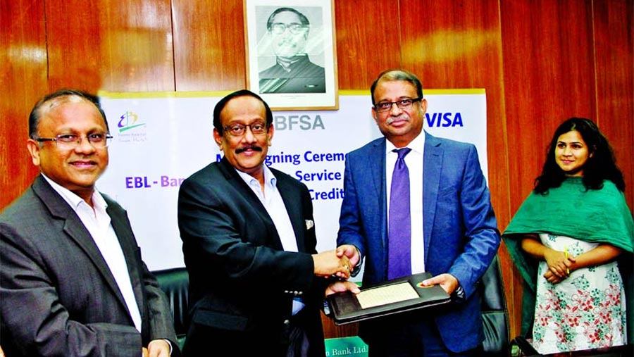 EBL and BFSA sign MoU for co-branded credit card