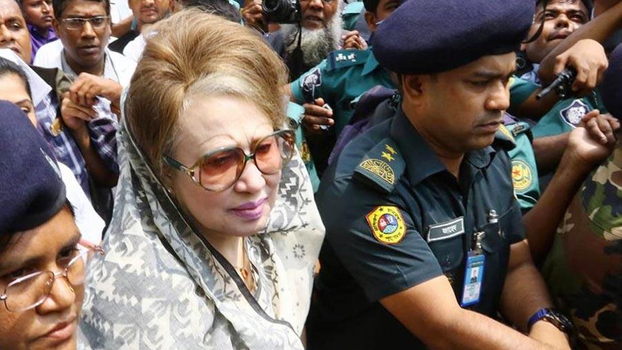 Khaleda taken to BSMMU for medical tests