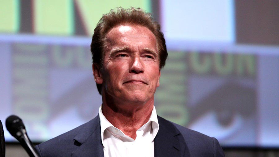 Arnold back home after heart surgery