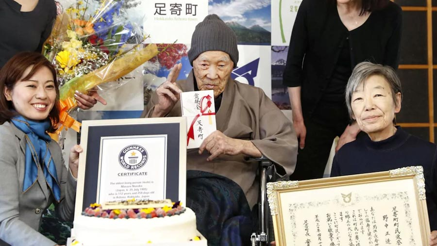 Masazo Nonaka confirmed as world's oldest man