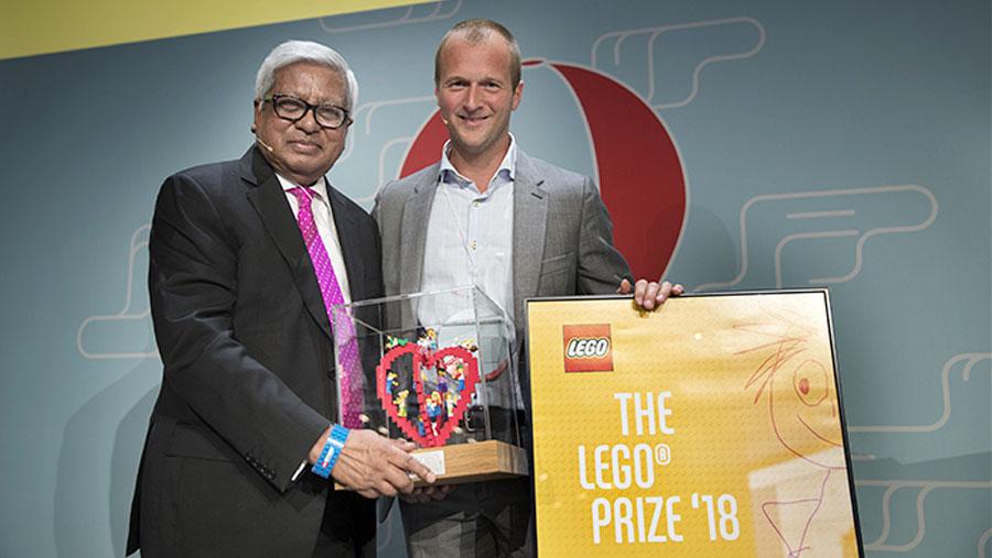 Fazle Hasan Abed awarded 2018 Lego Prize