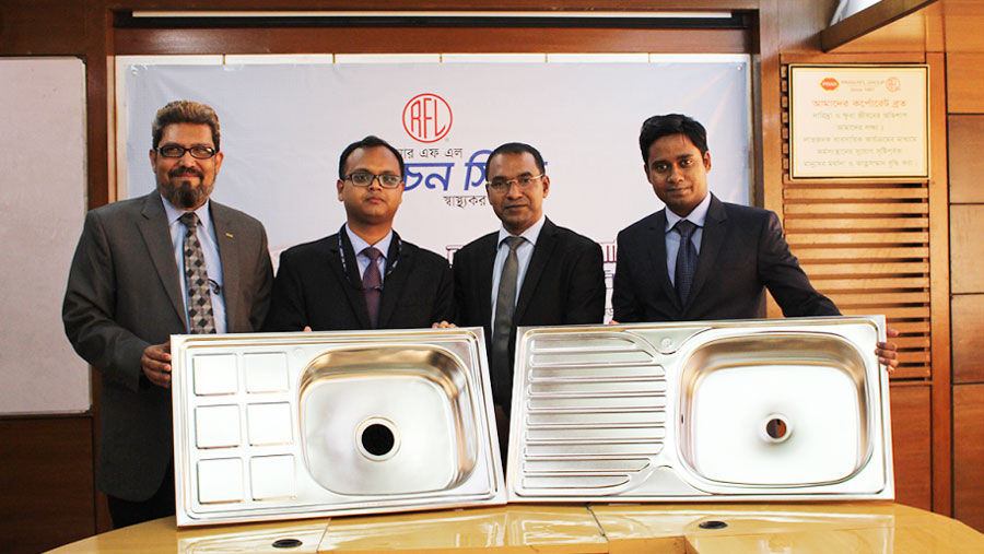 RFL launches new kitchen Sinks
