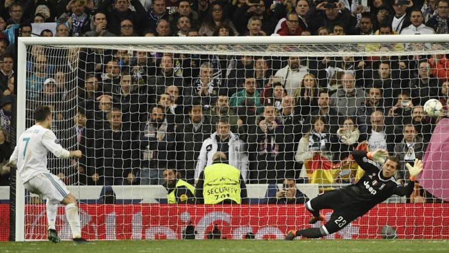 Ronaldo goal sends Real Madrid to semis