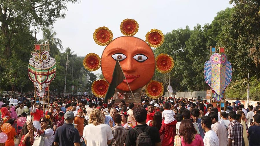 Pohela Boishakh is being celebrated