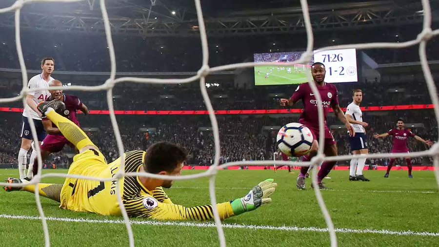 Man City rebound to beat Tottenham
