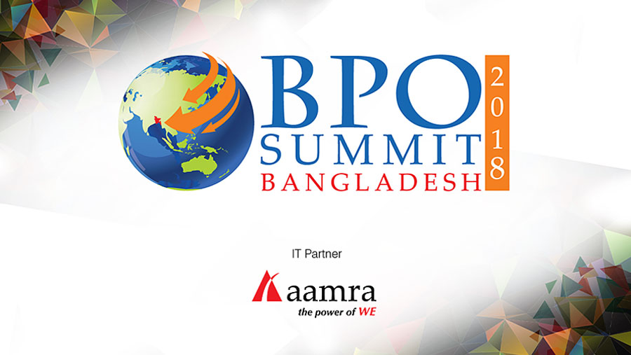aamra official IT partner of BPO Summit