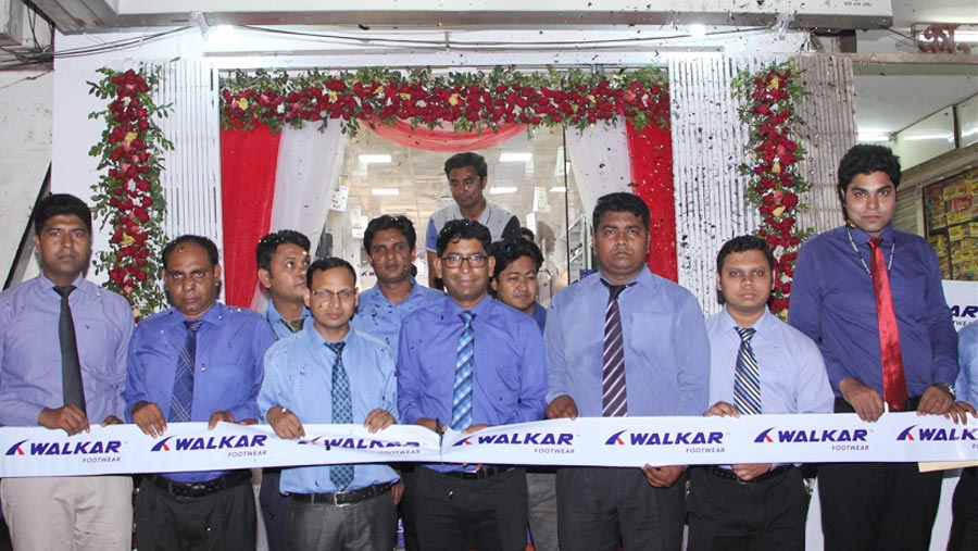 Walker footwear opens outlet in Rangpur