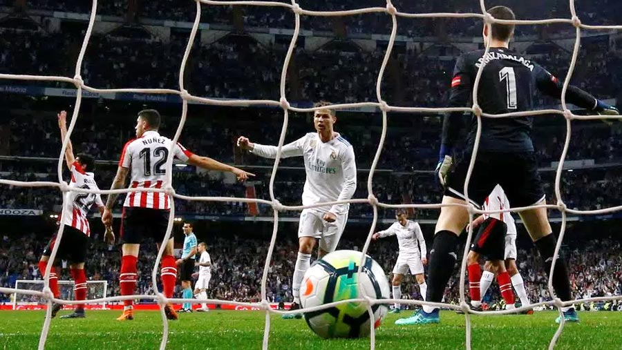 Ronaldo special rescues Real Madrid