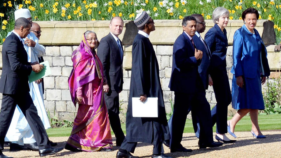 Commonwealth leaders call for sustainable return of Rohingyas
