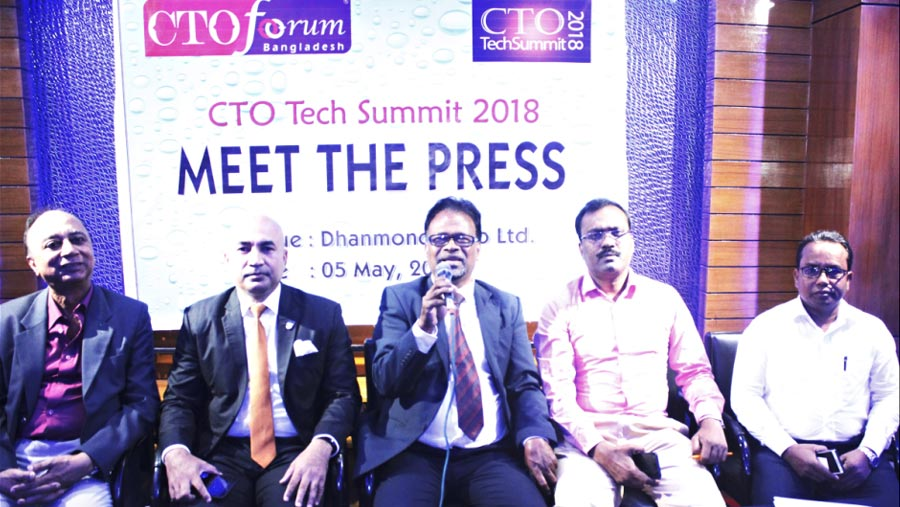 CTO Tech Summit 2018 on May 11 and 12