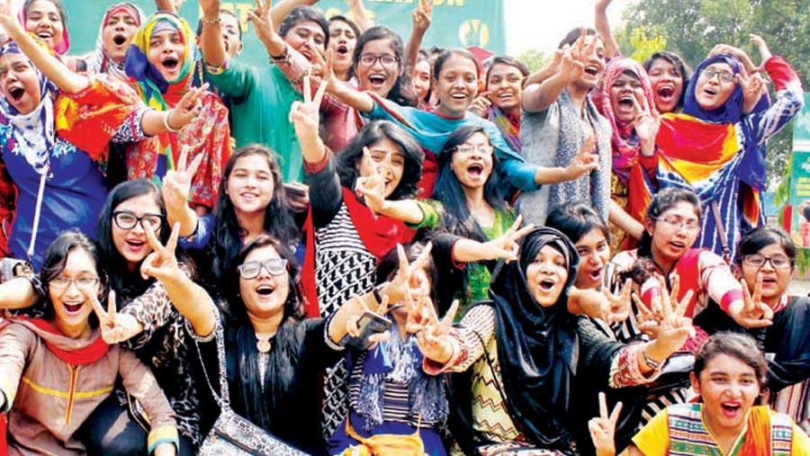 77.77 percent pass SSC, equivalent exams