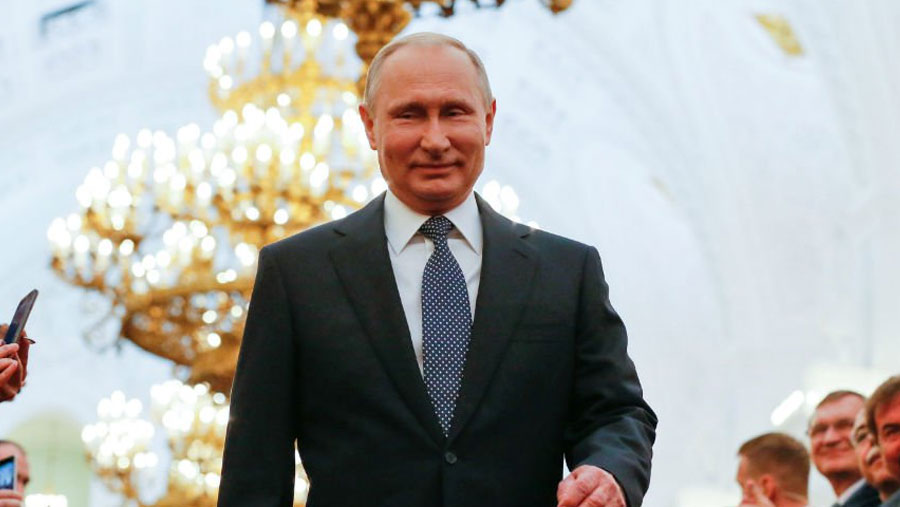 Putin sworn in for fourth term as Russian president