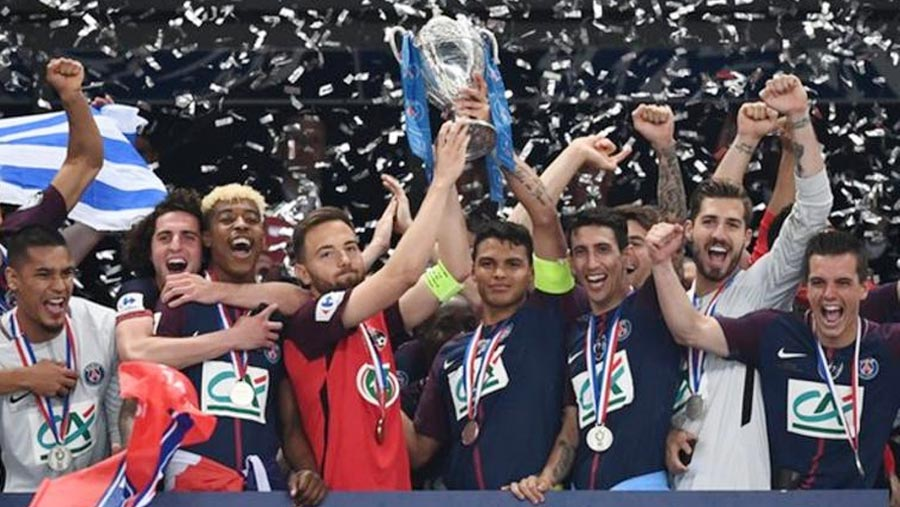PSG clinch treble with 2018 Coupe de France win