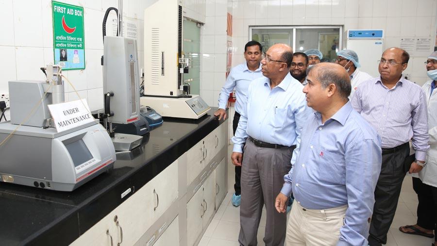 BSTI delegation visits PRAN-RFL factories