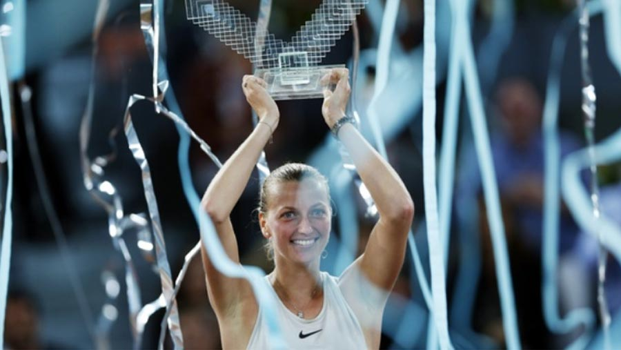 Petra Kvitova wins third Madrid Open title