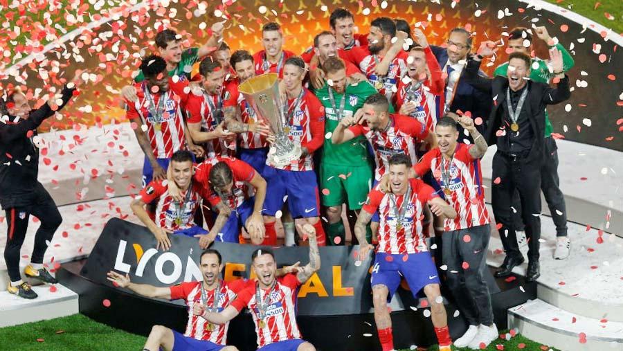 Atletico Madrid clinch Europa League