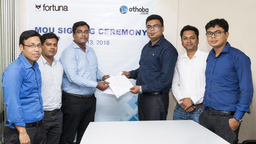 Othoba.com signs MoU with Fortuna