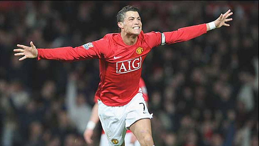Ronaldo voted Man Utd's best Premier League player