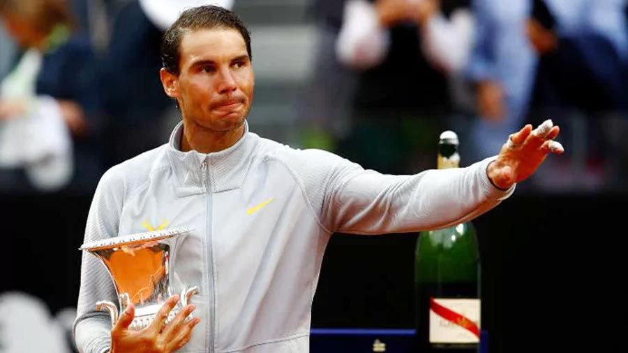 Nadal wins eighth Italian Open title