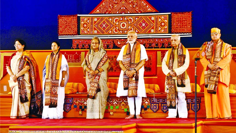 Hasina attends Visva-Bharati convocation, Bangladesh Bhaban inaugurated