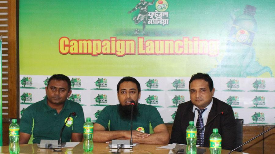 PRAN UP announces football mania campaign