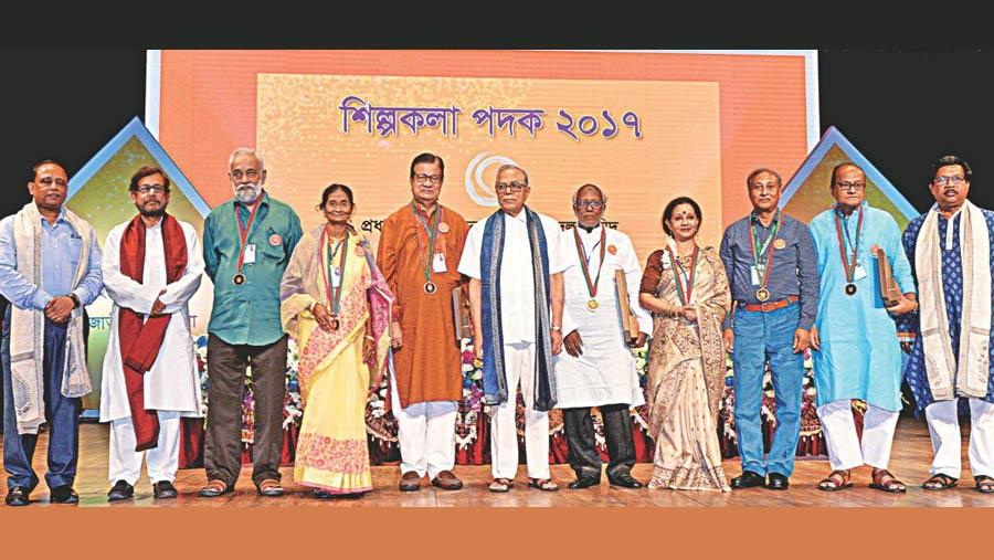 Shilpakala Padak 2017 conferred