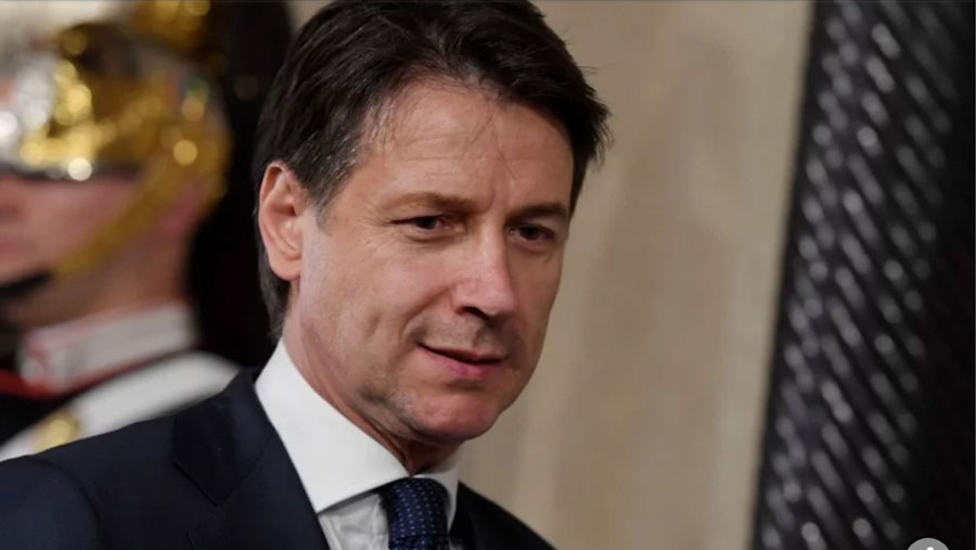 Giuseppe Conte sworn in as Italian PM