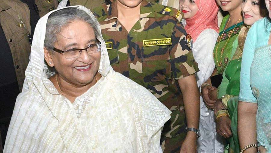 Sheikh Hasina leaves Dubai for Canada