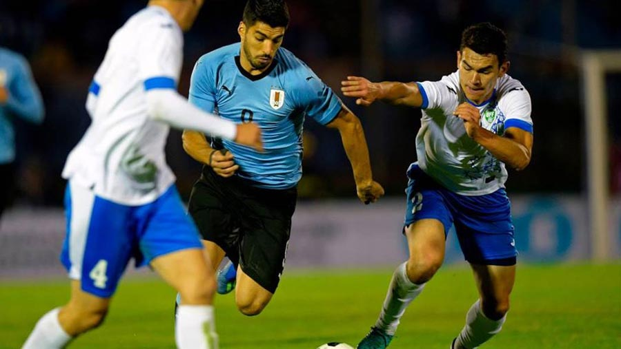 Uruguay beat Uzbekistan 3-0 in friendly