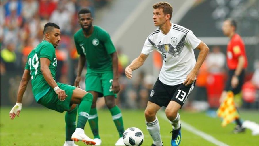 Germany beat Saudi Arabia in WC warmup