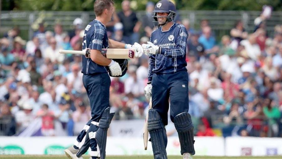 Scotland stun England in ODI