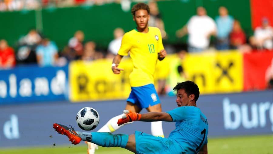 Neymar scores again as Brazil beat Austria