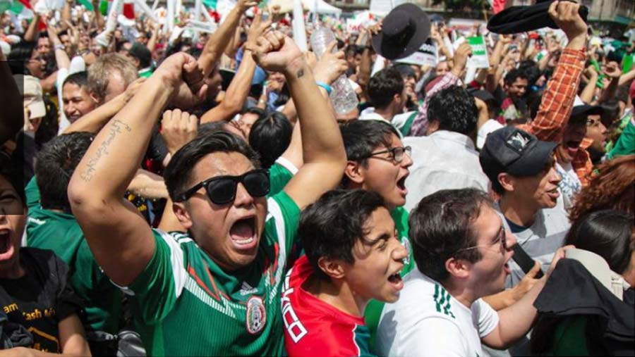 Mexico's goal trigger artificial earthquake!