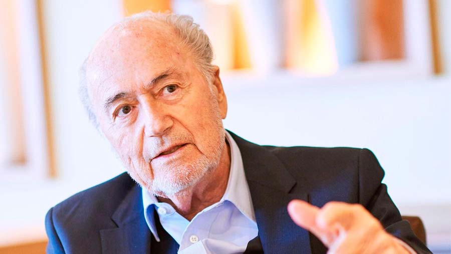 Ex-FIFA president Blatter in Russia for World Cup