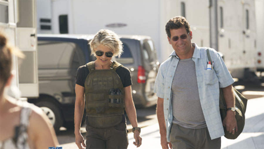 First look at Linda Hamilton in Terminator 6
